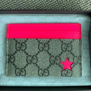 NEW GUCCI card holder business card holder wallet